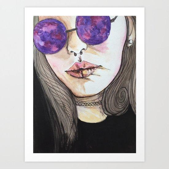 Crystal Visions Art Print
