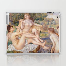 Les Grandes Baigneuses (The Large Bathers) by Auguste Renoir Laptop & iPad Skin