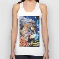 cookie Tank Tops featuring Cookie by John Turck
