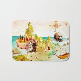 Peter Pan Map Bath Mat