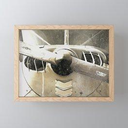 Antique Airplane Propeller Framed Mini Art Print