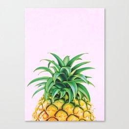 Pineapple Minimalist  Canvas Print