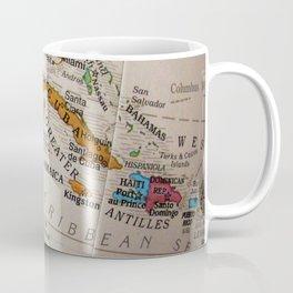 Map Art Coffee Mug