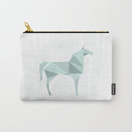Blue Horse by Frzitin Carry-All Pouch