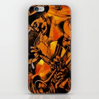 band iPhone & iPod Skins featuring band by borma toyen