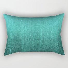 BLUR / abyss / turquoise green Rectangular Pillow