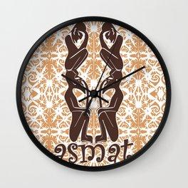 asmat 1 Wall Clock