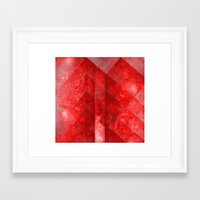 discount Framed Art Prints featuring Ruby Nebulæ by Aaron Carberry