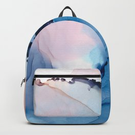 Blessing Fluid ink abstract watercolor Backpack
