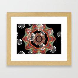 Pretty Bubbles Framed Art Print