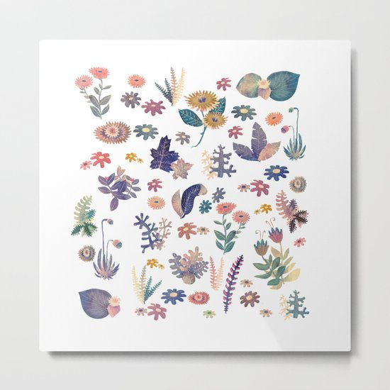 Nature all over Metal Print