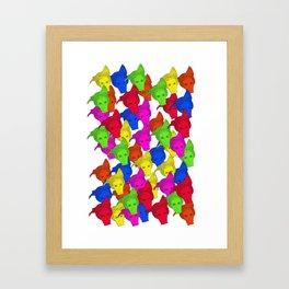 50 Shades of Gay! Framed Art Print