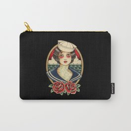 Sailor Girl Tattoo Carry-All Pouch