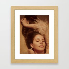 Smack dab in the middle of Hollyweird Framed Art Print