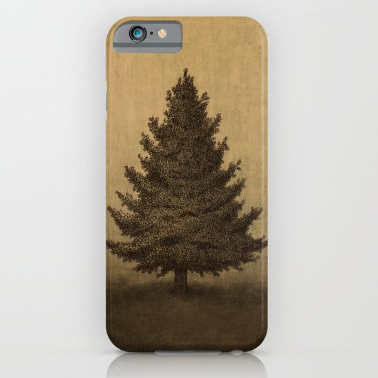 Lonely Pine  iPhone & iPod Case
