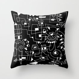 Circuit II Throw Pillow