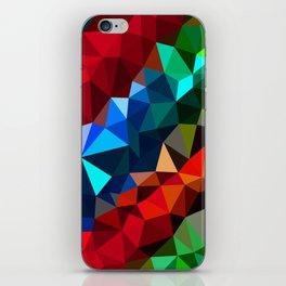 Geometric elements iPhone Skin