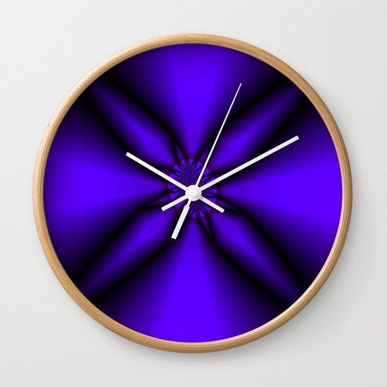 Somewhere in the Middle Wall Clock