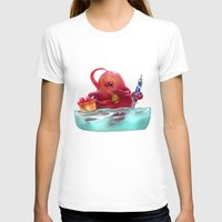 monster T-shirts featuring Monster by Vajra Pancharia