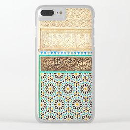 Fez, Morocco Clear iPhone Case