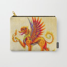 Singha Winged Lion Temple Guardian Carry-All Pouch