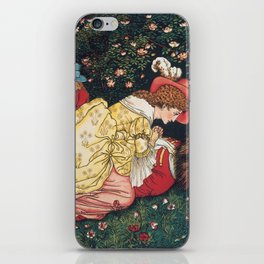 Beauty and the beast - Belle Mourns the beast iPhone Skin