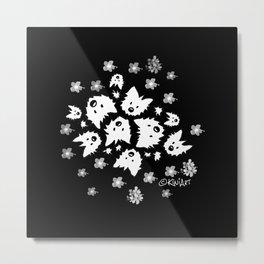 KiniArt Westie Bouquets Metal Print