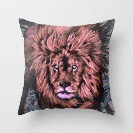 Lion Weed by CreepSeason Throw Pillow