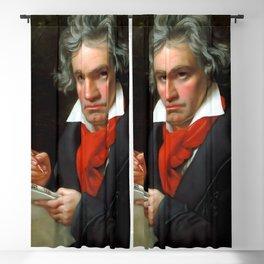 Ludwig van Beethoven (1770-1827) by Joseph Karl Stieler, 1820 Blackout Curtain