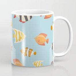 Colorful fish pattern Coffee Mug