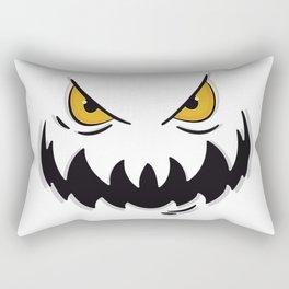 Evil face Rectangular Pillow