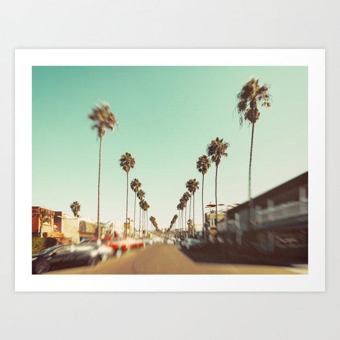 Ocean Beach Blvd San Diego Kunstdrucke