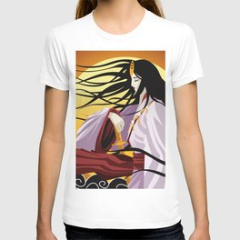 amaterasu Shinto, sun mythology goddess T-shirt