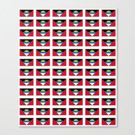 flag of Antigua and barbuda -antiguan,barbudan,caribean,antilles,Saint John,madeiran Canvas Print