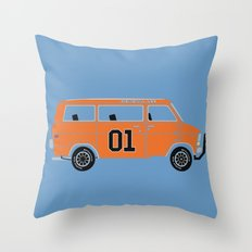 The General Van Throw Pillow