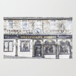 Greyfriars Bobby Pub Snow Rug