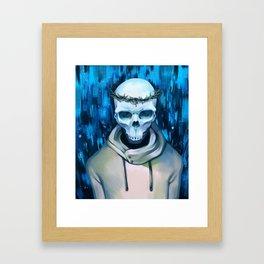 Death Framed Art Print