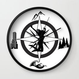 Adventure Bod - Logo Wall Clock