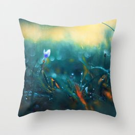 Morning's Gift Throw Pillow