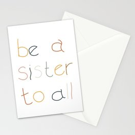 Sister to All Stationery Cards