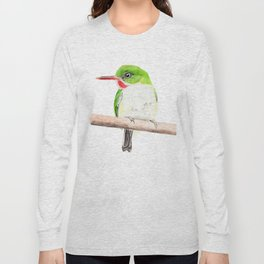 Puerto Rican Tody Long Sleeve T-shirt