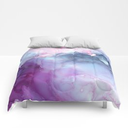 Dreamy storm clouds Comforters