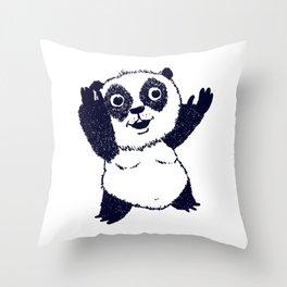 Sinon, un panda (6) - collector Throw Pillow
