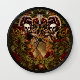 Pray Wall Clock
