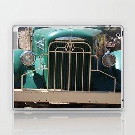 Mack Truck Grill, Mack Truck, Old Truck, Green Laptop & iPad Skin