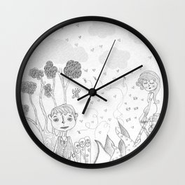 The Rodolfo Mouse  Wall Clock