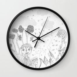 The Rodolfo Mouse  Wall Clock