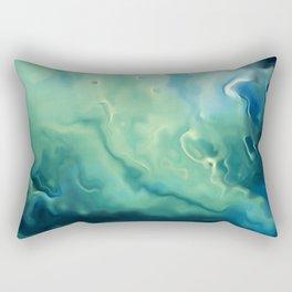 Surfing Art, Beach Tapestries and Surfing Print Rectangular Pillow