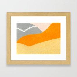 Sunset Boulevard Framed Art Print