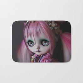 LITTLE OCTOPUS CUSTOM BLYTHE ART DOLL PINK NAVY Bath Mat